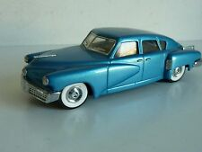 DINKY MATCHBOX DY 11 TUCKER TORPEDO 1948 BLEU 1/43 TTBE NM NO BOX