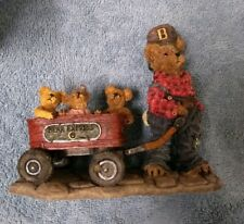Boyds Bears Huck with Mandy Zoe and Zack Rollin along  #227727