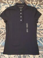 NWT Tommy Hilfiger Women's Cotton Tee (T) Shirt/Blouse Short-Sleeve Sz: Small