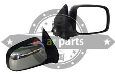 HOLDEN RODEO RA 3/2003-9/2008 RIGHT HAND SIDE DOOR MIRROR ELEC CHROME & BLACK