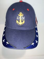 New listing Nrg United States Navy With Anchor Logo Red White Blue Stars