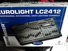 Behringer EUROLIGHT LC2412 24 Channel DMX 512 Lighting Console Controller