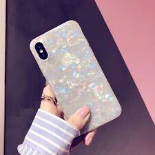 Fashion Beautiful Sea Shell Glazed Phone Case Back Cover For iphone X/6/7/8 Plus