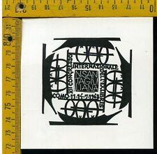 Andy Warhol Litografia 57 x 38 Arches Timbro Secco Israel Castelli AN389