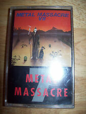 NEW Metal Massacre VII MINT cassette tape Heretic/Krank/Mad Men/Detente/Flotsam