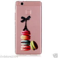 "Custodia Cover IMD MACARONS FIOCCO Case TPU Morbida per Huawei P9 Lite 5.2"""
