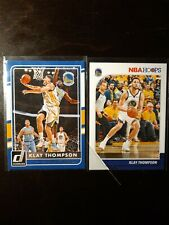 Klay Thompson 2 Card Lot
