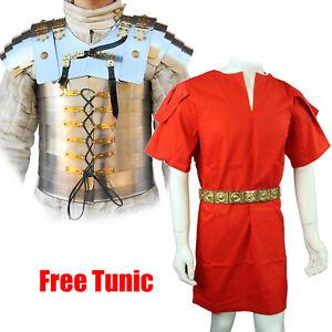 Medieval Roman Greek Legionary Lorica Segmentata Armour w/ FREE Cotton Tunic