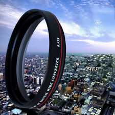 ZOMEI 52MM 0.45X Wide Angle Filter Camera Lens Optical Glass Wide Converter