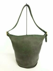 COACH  Leather Green Green Old Leather Green Fashion Shoulder bag From Japan