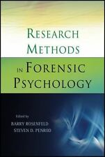 Research Methods in Forensic Psychology by Steven D. Penrod and Barry.