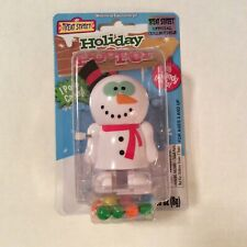 Treat Street Holiday Pooper Christmas Snowman Wind Up Candy Poop Toy **New**