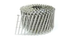 """Stainless Steel Coil Nails 3 1/4"""" x .120"""" Ring Shank (2,700) Bostitch"""