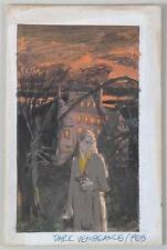 "DARRELL GREENE AMERICAN ORIGINAL ILLUSTRATION OF A WOMAN TIT ""DARK VENGEANCE """