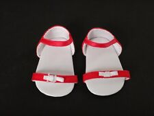 AMERICAN GIRL Lanie Butterfly Outfit Pink SANDALS White Bows