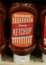 Whataburger 20oz fancy ketchup HEB TX exp.2020