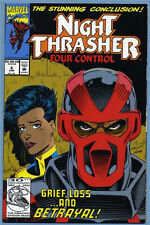 Night Thrasher Four Control #4 1993 New Warriors Marvel
