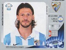 N°213 DEMICHELIS # ARGENTINA MALAGA.CF CHAMPIONS LEAGUE 2013 STICKER PANINI