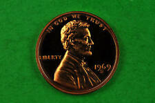 1969-S  Deep Cameo Lincoln Penny US GEM PROOF  Coin