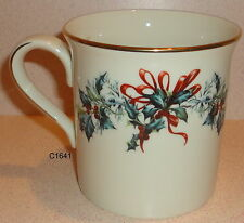 Lenox WINTER GREETINGS MUG New Tags Never Used