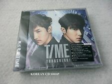 Dong Bang Shin Ki (TVXQ)  - Time (CD+DVD) [Version B] [Limited Ed] + FREE GIFT