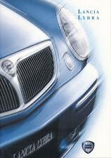Lancia - Lybra  -  Prospekt  - 08/99 -  Deutsch - nl-Versandhandel