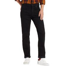 Wrangler Uomo Arizona Taglio Dritto Pantaloni Jeans - Nero