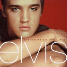 ELVIS PRESLEY - THE 50 GREATEST LOVE SONGS USED - VERY GOOD CD