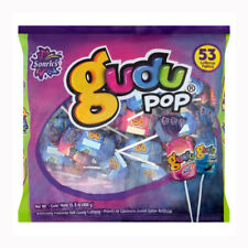 Sonric's Gudu Pop 53-pcs Net Wt 15.8-oz Flavor Mix & Pop Blue