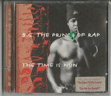 "B.G. THE PRINCE OF RAP ""The Time is now"" CD 1994 SONY Music NEU & OVP/Sealed"