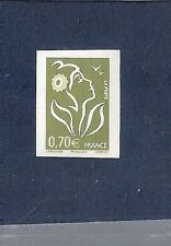 "SUPERBE NON DENTELE variété MAURY N° 3960d ""0,70€ vert-olive"" cote 130 € neuf**"