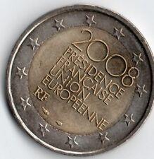 Francia 2 euro; 2008 presidence francés Unión Europeene