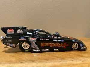 John Force NightStalker 2009 Mustang Funny Car by Action, 1/24, new autographed
