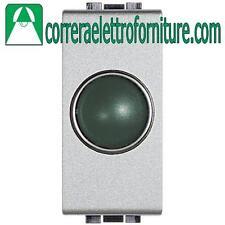 BTICINO LIVINGLIGHT tech portalampada spia verde NT4371V