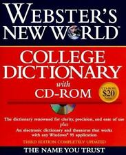 Webster's New World College Dictionary with CD-ROM