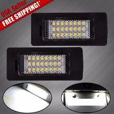 2X Error Free 24 LED License Plate Lights Lamps for BMW E39 E60 E81 E82 E90 E92