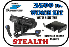 KFI 3500 lb.Stealth Winch Mount Kit '03-'13 Yamaha Rhino 450 / 660 / 700