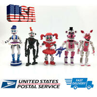 5 pcs Five Nights at Freddy's Sister Location Action Figures Set Party Toys Gift