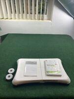 Wii Fit Balance Board Nintendo RVL-021 Wii Fit & Manual
