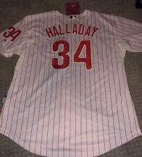 ROY HALLADAY MLB PHILADELPHIA PHILLIES HOME MAJESTIC MENS JERSEY Size 54 NWT