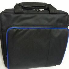 Black Multifunctional Travel Carry Case Carrying Bag for Playstation4 Ps4
