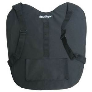 """Umpire Chest Protector Outside Extra Padding 3"""" Thick for Baseball/Softball"""