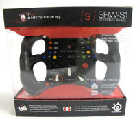 SteelSeries Simraceway SRW-S1 Gaming PC Steering Wheel Controller 69005