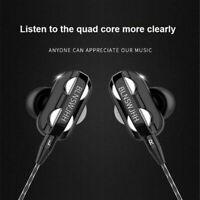 Super Bass In ear HIFI Stereo Headphone Headsets Earphone Earbuds 3.5mm With Mic