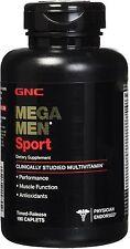 Mega Men Sport, GNC, 180 caplets