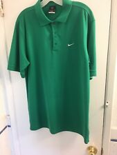 Nike Golf Polo Green Shirt Men's Medium - E-37