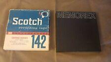 Scotch and Memorex Recording Tape Reel to Reel Unused