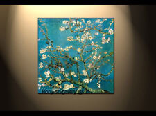 Handmade Oil Painting repro Van Gogh Almond Branches in Bloom ART on Canvas DF39