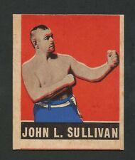 1948 Leaf Boxing #101 John Sullivan NM (Miscut)