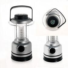 Mini Lanterna Camping Torcia a 12 LED Luce Fredda Lampada Campeggio con Bussola